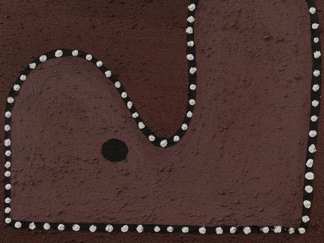 Badel, Mawundu & Goorndoolji Detail - April Nulgit, Warmun Art Centre