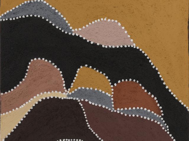 Birnoo Country - Gordon Barney, Warmun Art Centre