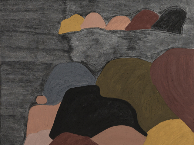 Winniper Springs (My Father's Country) - Evelyn Malgil, Warmun Art Centre