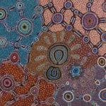 Witchetty Grub Dreaming - Jennifer Napaljarri Lewis, Warlukurlangu Artists of Yuendumu